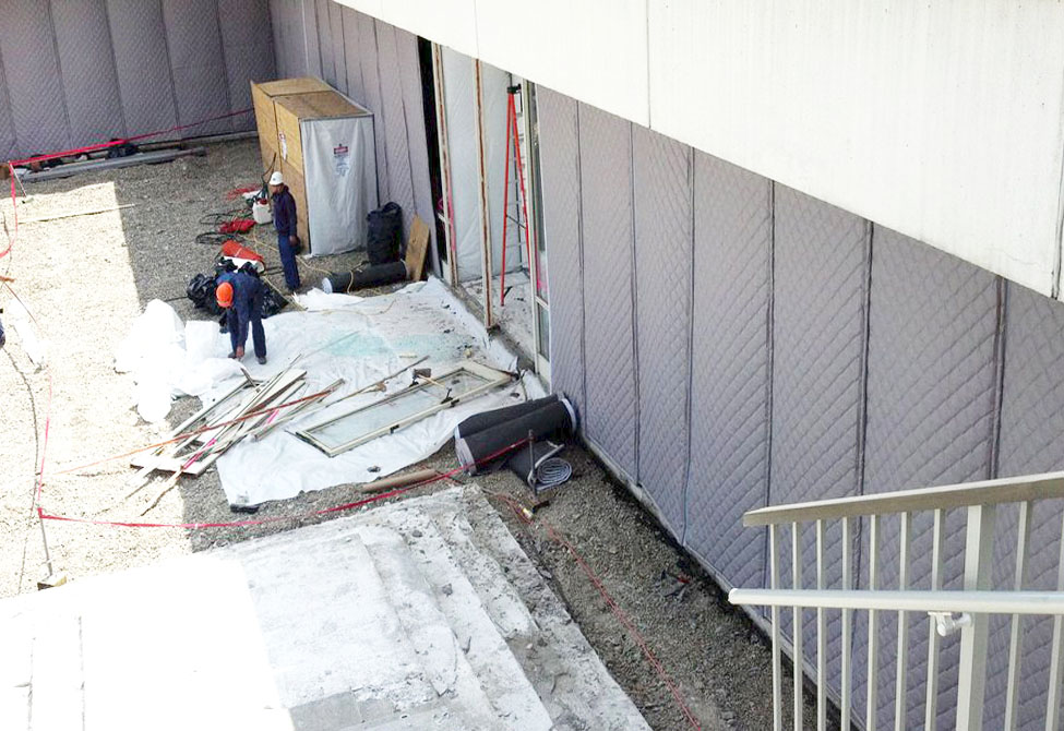 Construction Sound Curtains
