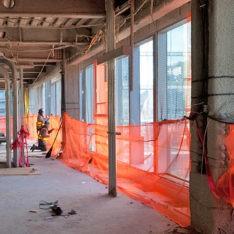 Safety Barrier Debris Netting Enscaf Enclosures